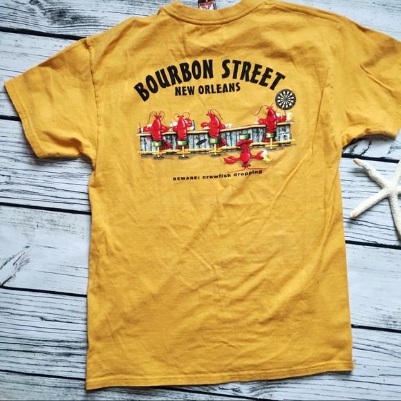 d80f38aa5 The Duck Co Shirts | New Orleans Bourbon Street Crawfish Drop Tee M ...